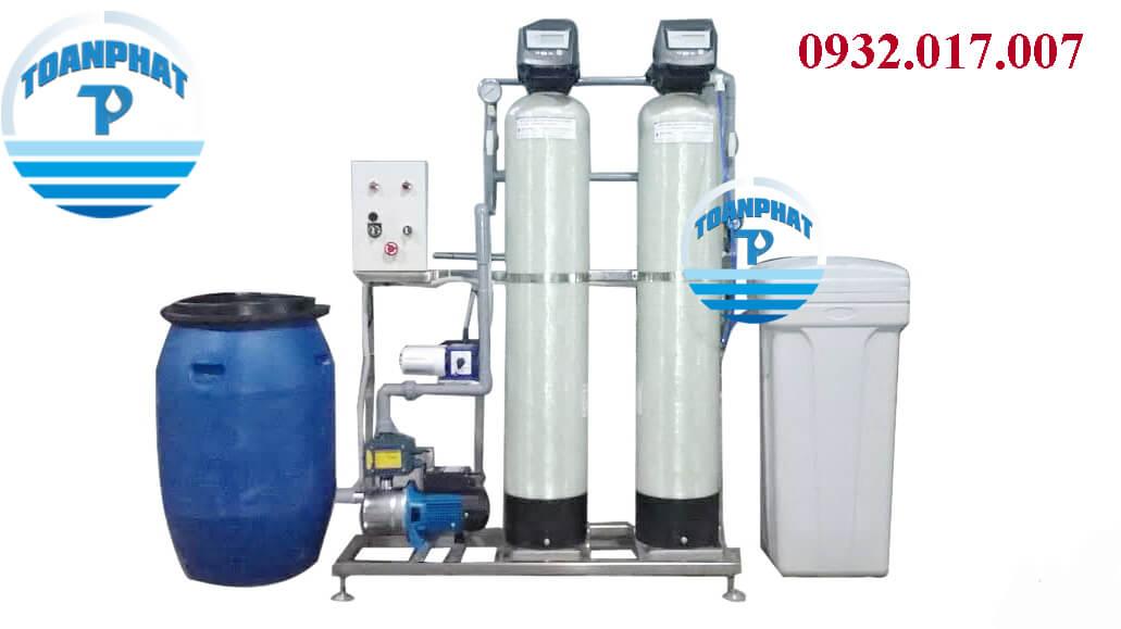 Hệ thống khử sắt - khử mùi - làm mềm cấp nước sinh hoạt
