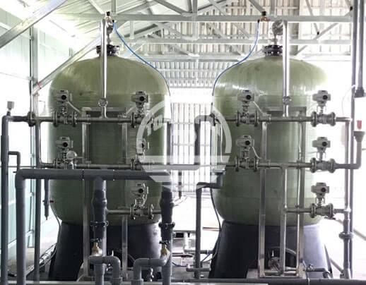 hệ thống xử lý nước phèn