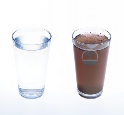 Nước xử lý qua lọc thô