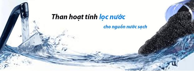 than hoạt tính trong lọc nước